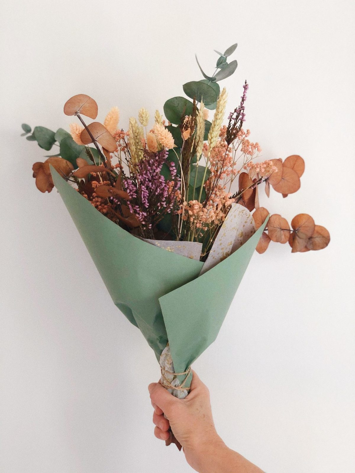 Ramo flores preservadas Minerva simply flowers