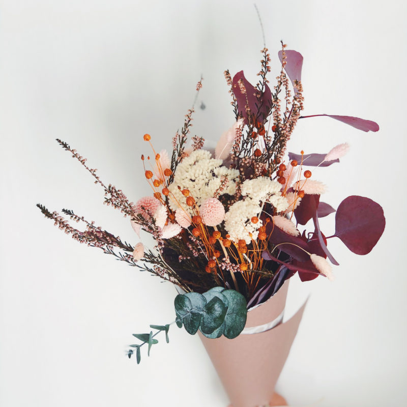 Ramo flores preservadas Nadia simply flowers