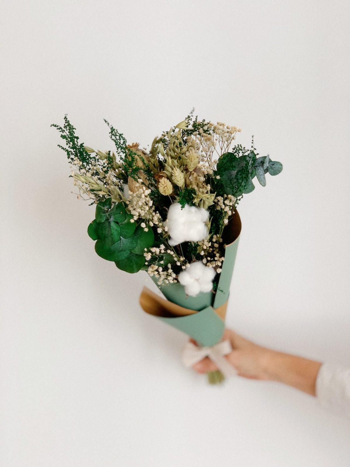 Ramo flores preservadas Olivia simply flowers
