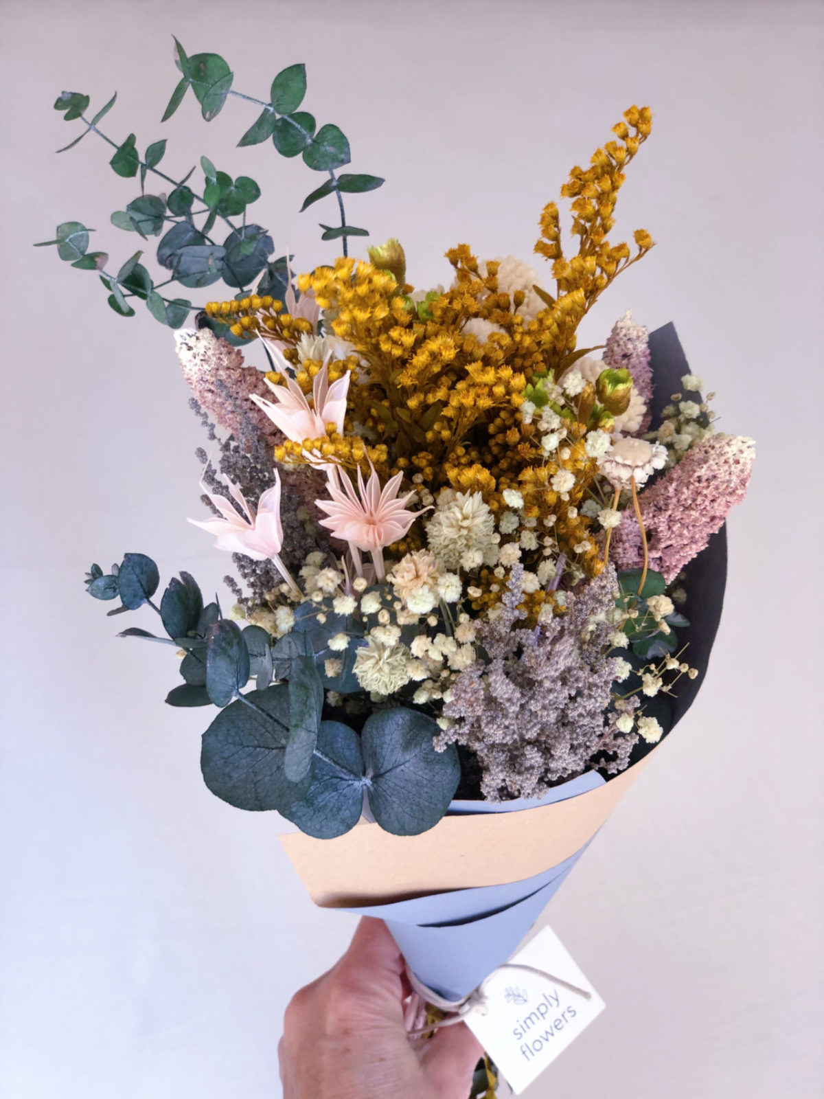 Ramo flores preservadas Amalia simply flowers