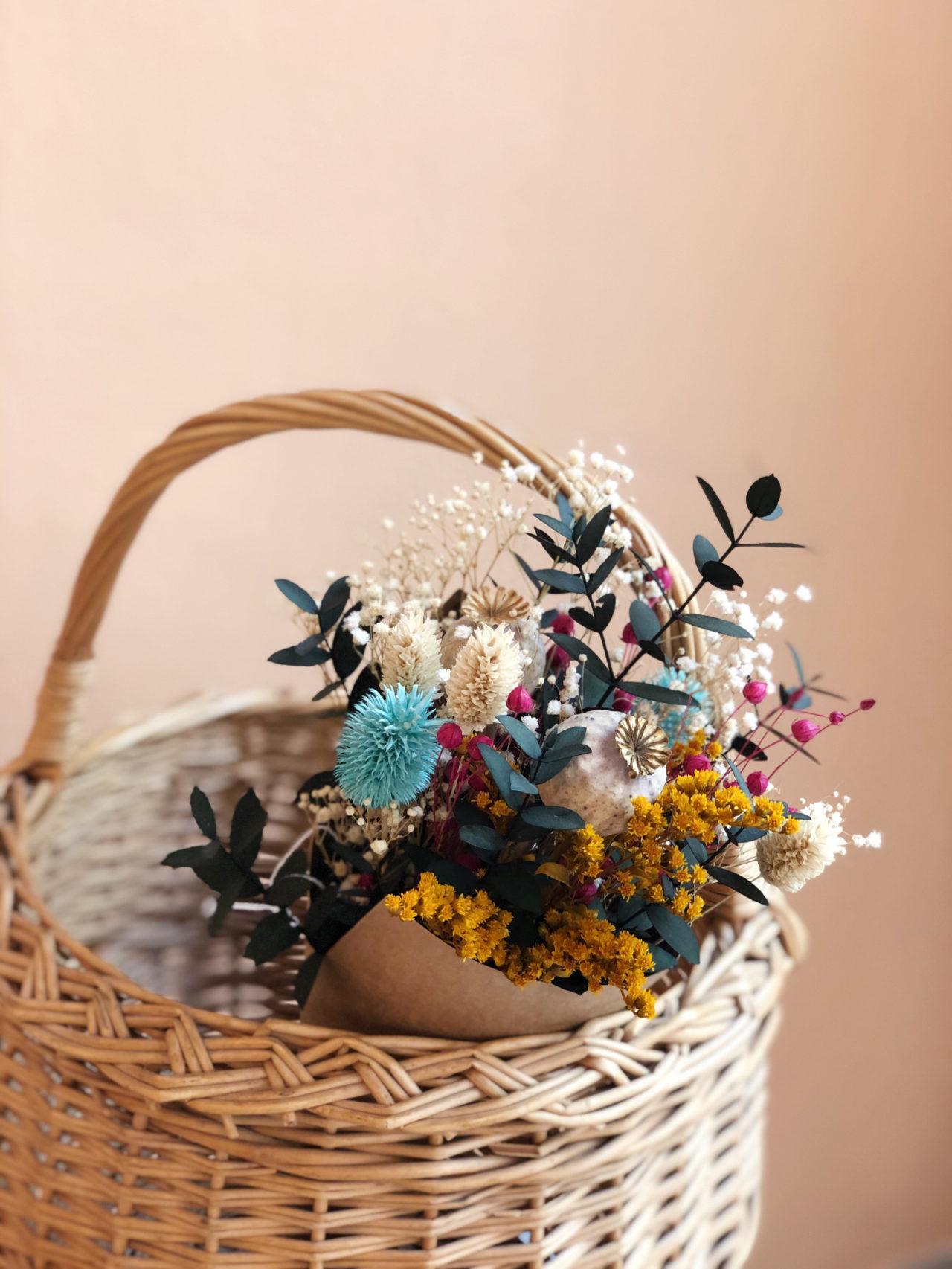 Ramo flores preservadas Elma simply flowers