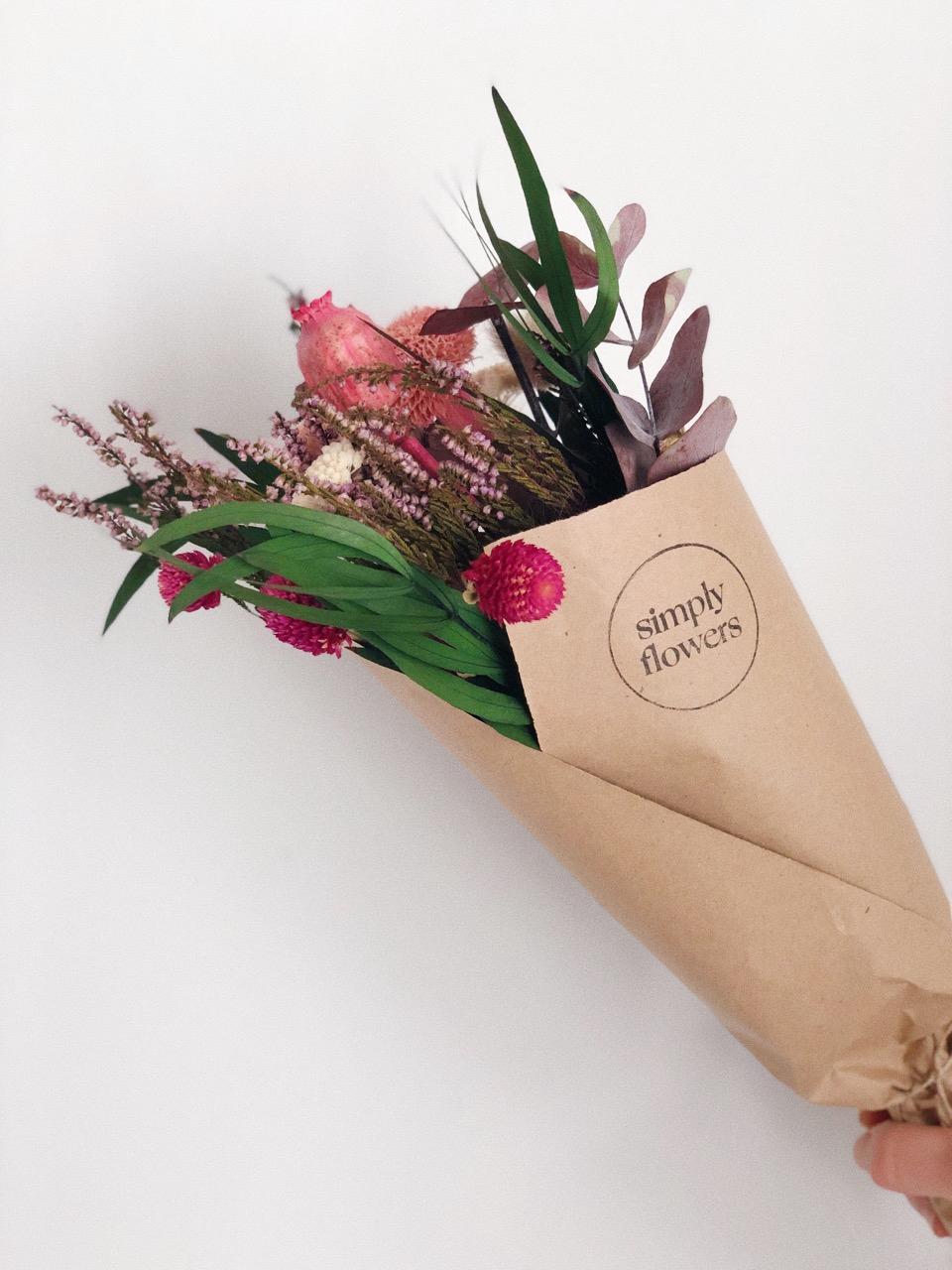Ramo flores preservadas Adela simply flowers