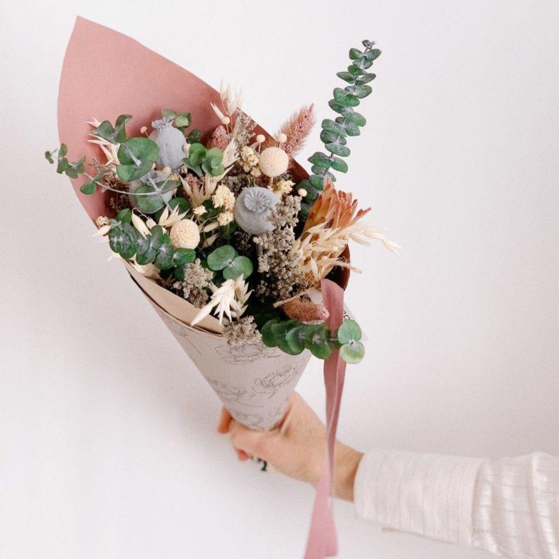 Ramo flor preservada Aitana simply flowers