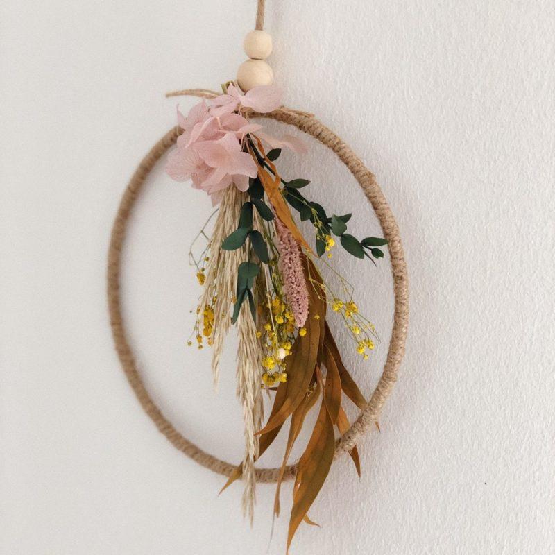 Corona flor preservada Fabiola simply flowers