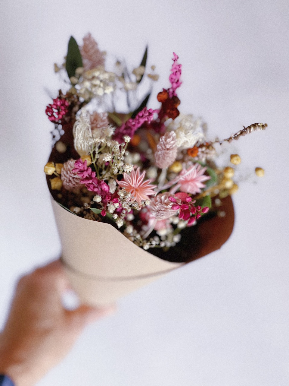 Ramo flor preservada Jacinta simply flowers